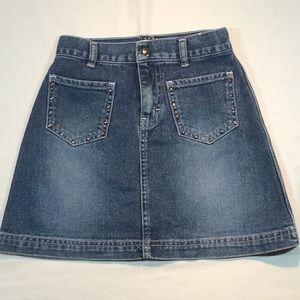 Tommy Hilfiger Girls Denim Skirt Over 65% OFF